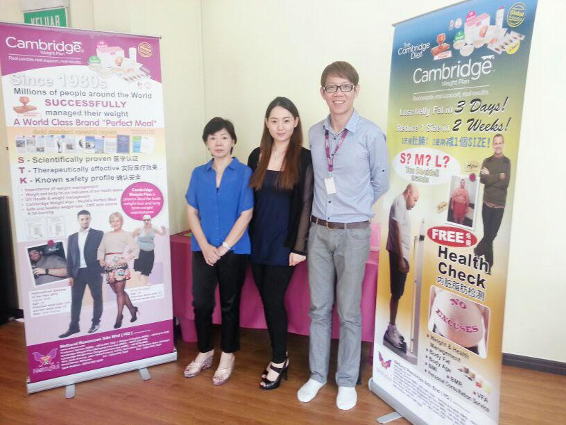 Netturul Cambridge Weight Plan Event & Mobile Clinic at Brunei