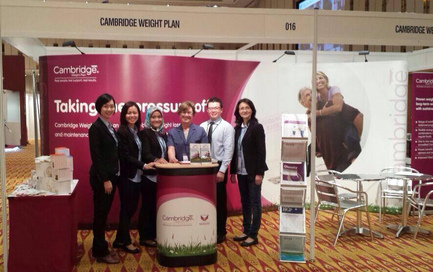 CWP Medical Mobile Clinic In International Congress of Obesity (ICO) 2014 at KLCC